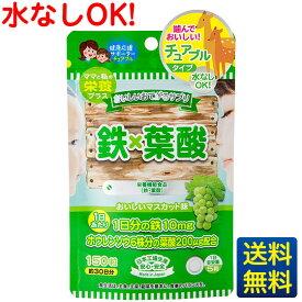 【おいしいお手軽サプリ 鉄×葉酸】150粒1ヶ月分/ジャパンギャルズ/栄養機能食品/葉酸サプリメント/マスカット味