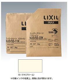 内装用防汚目地材 スーパークリーン バス・トイレ4kg MJS/SS-31K