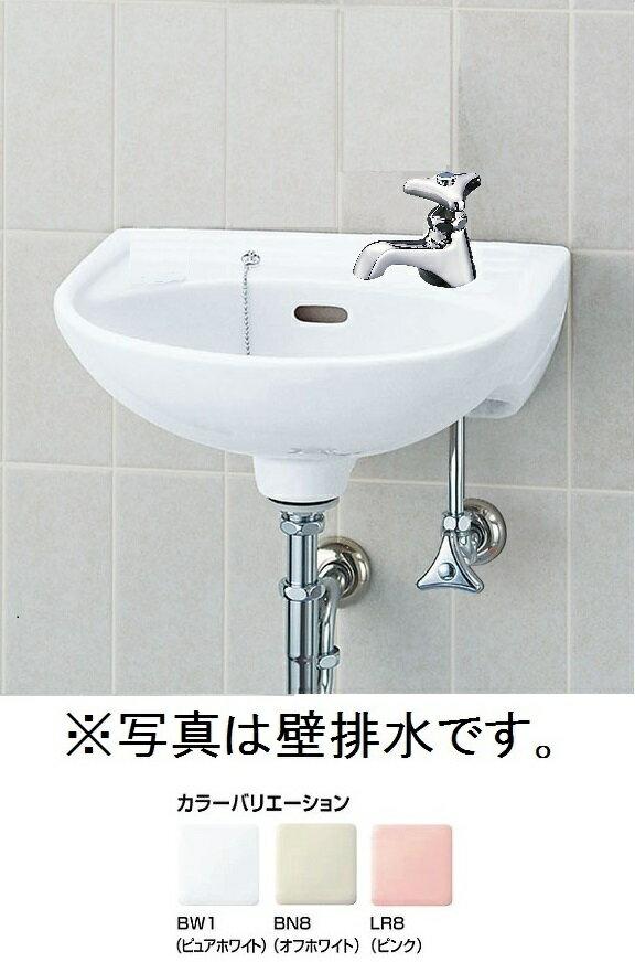 平付大形手洗器(水栓穴1)壁排水セットL-15AG/○○+LF-1