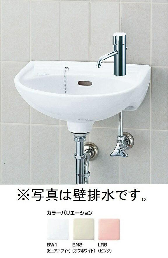 平付大形手洗器(水栓穴1)壁排水セットL-15AG/○○+LF-E01