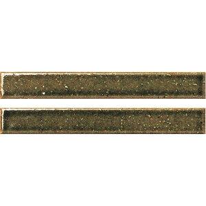名古屋モザイク クラフトタイル 華窯ボーダー KAYO BORDER 144×19ボーダー KB-M-1[シート]
