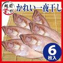 かれい 一夜干し(ヤナギムシカレイ、笹ガレイ、若狭ガレイ、柳かれい、べたかれい)干物セット 6尾入【冷凍】4セット…