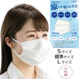 マスク 涼やか 洗える S 標準 Lサイズ 涼感 日本製 絹マスク シルクマスク おやすみマスク 多重構造 フィルター ノーズワイヤー入り 対策 繰り返し使える 爽やか 小杉織物 勝負マスク 藤井聡太 イトカラ