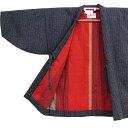 真綿半纏 婦人半天 中わた絹100% はんてん 袢纏 半纏 半天 レディース 日本製 フリーサイズ 久留米絣 宮田織物