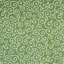 京唐草 風呂敷 ふろしき 唐草模様 二巾 68cm 緑 からくさ 綿100% 小柄 生地 一升餅用 日本製