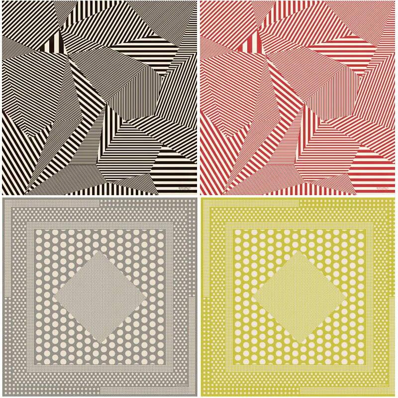 大判風呂敷 KONOMI by yu-soku tokyo 綿二四巾 stripeストライプ polka-dotポルカドット ふろしき