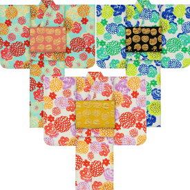 子供浴衣 ツモリ チサト tsumori chisato kids yukata 7-8歳用120 こどもゆかた 女児 ジュニア 2019小紋花