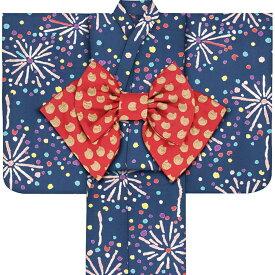 子供浴衣 ツモリ チサト tsumori chisato kids yukata 100 110 120 130 140 150 こどもゆかた 女児 ジュニア 22