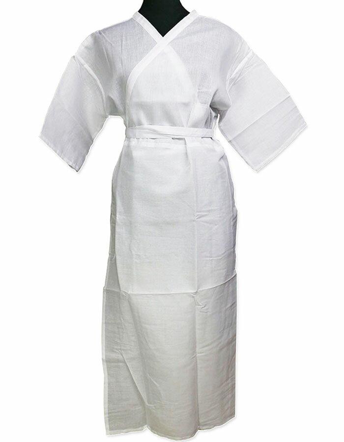 きものスリップ 和装 女性用肌襦袢 M/L 着物インナー 着付け小物 着付インナー 着付下着 ワンピース肌着 通年スリップ 白