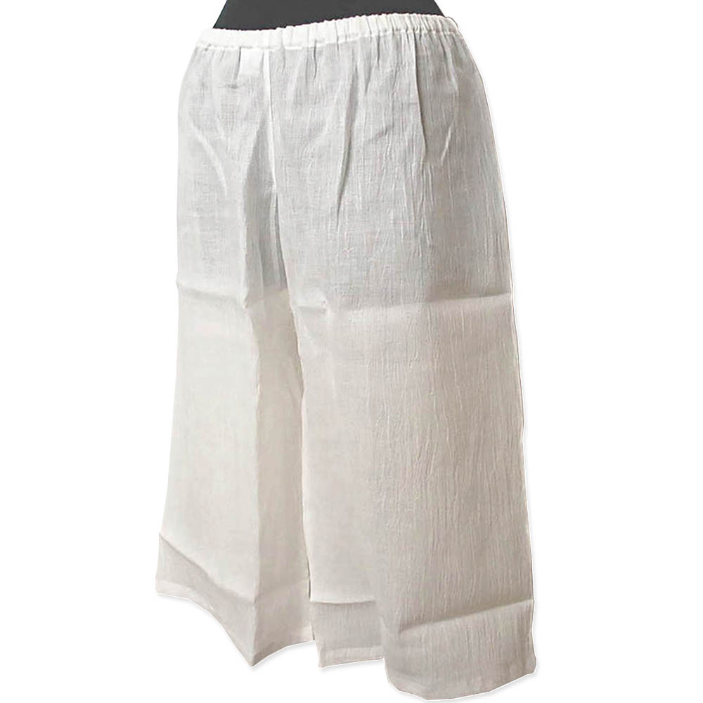 和装下ばき M Lサイズ 浴衣 夏女物ステテコ クレープ生地 綿100%楊柳 ゆかたパッチ 裾よけ