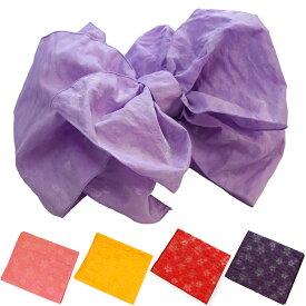 浴衣帯 子供用 兵児帯 小桜 こざくら 子ども用 ゆかた帯 女児 5色