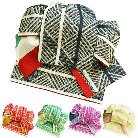 作り帯 浴衣帯 両面小袋半幅帯 粋 ゆかたおび ゆかた帯 ツバメ結び帯 ワンタッチ帯 レトロモダン 夏あそび