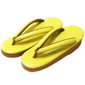 菱屋 カレンブロッソ カフェ草履 黄色 Calen Blosso ぞうり ゾウリ レディース 女性用 日本製 和装ぞうり 和装草履