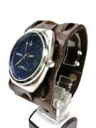 DEAN社別注ジョニーデップ愛用同色特別モデルMW03レザーベルト時計腕時計レザーベルト再入荷しました。
