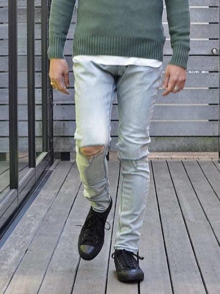 ZANEROBE ゼインローブ JOE BLOW PANT ゼインローブ パンツ デニム ダメージ デニムパンツ メンズジーンズ