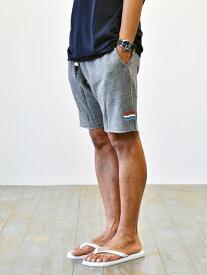 Sol Angeles ESSENTIALS  TRICO WAVE ソルエンジェルス エッセンシャル メンズ カットオフ ショーツ サーフ ショートパンツ スェットパンツ 3本ライン トリコ