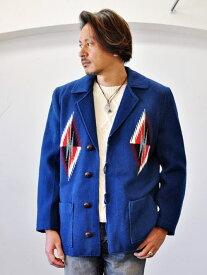 ORTEGA'S オルテガ 1点もの 本物 手織り ハンドメイド ニューメキシコ チマヨ 織り ジャケット