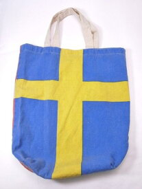 FLAG BAG エコバッグ コットンバッグ 折りたたみ 布バッグ 2面バッグ