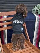 (ペア L 犬用)DOG用 UCLA 公認 DOG & ME  ペアルック スェット カレッジパーカー  飼い主 と お揃い ドッグウェアー 犬用服 犬服 おしゃれ 散歩 ペア 人気