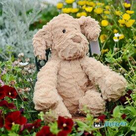 Jellycat Fuddlewuddle Puppy Medium ジェリーキャット 日本もふもふ わんこ 犬 いぬ ぬいぐるみ 大人女子 ギフト 癒し プレゼント お祝い 出産祝い 誕生日 最高級 縫いぐるみ ソフト ドール ふわふわ  正規代理店 輸入品