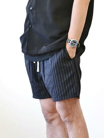 ZANEROBE PINSTRIPE ZEPHYR ゼインローブ ピンスト ストライプ ビーチショーツ  ラインパンツ メンズ ショートパンツ ブラック