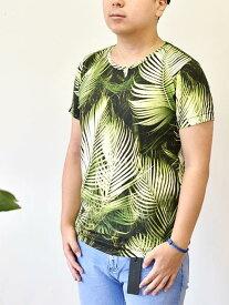 FRANKLIN MARSHALL フランクリンマーシャル イタリア製 メンズ Tシャツ ボタニカル