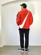 NIKE  ルーズフィット スウォッシュジャケット アウトドア ジャケット メンズ 原宿エトフ ナイキ正規販売店   ナイキ限定商品 原宿 ナイキジャパン 正規品 ナイロンジャケット プルオーバーパーカー メンズ 赤色 スォッシュ ナイロンジャケット 大きめ ルーズ