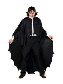 ハロウィン バンパイア 吸血鬼 衣装 マント ケープ LONG VAMPIRE CAPE お化け メンズ 大人 男性用 紳士用簡単 あす楽 仮装