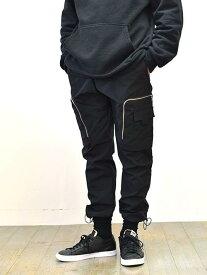 ZANEROBE Jumpa Tech pant ゼインローブ ナイロンジョガー ナイロンパンツ リラックスパンツ ドローコード カーゴパンツ 大きめポケット 正規販売 エトフ 正規品