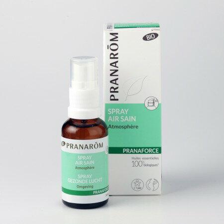 プラナロム プラナフォース・スプレー 30ml 02601 エアフレッシュナー ( 芳香剤 ) ケモタイプ 精油 ( エッセンシャルオイル アロマオイル )のみをブレンド。スプレータイプで簡単にお部屋が香ります。天然 オーガニック ( PRANAROM ) ( 送料無料 ) ルームコロン