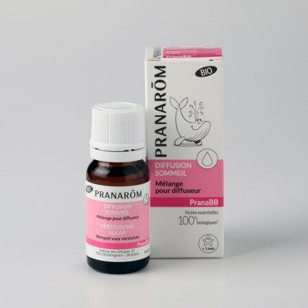プラナロム ディフューザーオイル・スリープ 10ml 02611 プラナBB ディフューザーブレンドオイル ベルギーの有機農産物認定団体サーティシスによるオーガニック認証を得たアロマディフューザー用エアフレッシュナー ( PRANAROM ) ( 送料無料 ) ルームコロン
