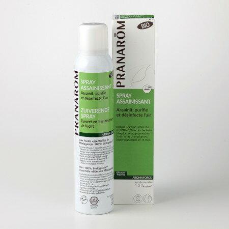プラナロム アロマフォーススプレー 150ml 02621 エアフレッシュナー ( 芳香剤 ) ケモタイプ 精油 ( エッセンシャルオイル アロマオイル )のみをブレンド。さわやかな香りでお部屋のなかをリフレッシュ ( PRANAROM ) ( 送料無料 ) 芳香 スプレー
