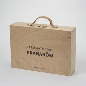 プラナロム社 PRANAROM オリジナル アロマ オイルボックス 60本用 00207精油を収納 保管 保存する箱。プラナロム オリジナルロゴ入り 送料無料※ロゴの向きが今回より逆になっております。ご留意ください
