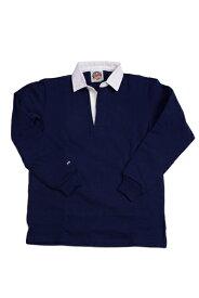 バーバリアン メンズラガーシャツ レギュラーカラー長袖 無地 12oz ヘビーウエイトコットン100% クラシックモデル ネイビー