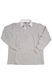 バーバリアン メンズラガーシャツ レギュラーカラー長袖 無地 12oz ヘビーウエイトコットン100% クラシックモデル アッシュ
