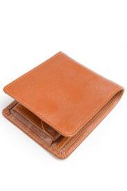 グレンロイヤル GLENROYAL 二つ折り財布 コインケケース付ウォレット 03-6171 オックスフォードタン ブライドルレザー
