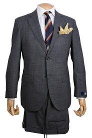 J.PRESS(Jプレス)メンズ 秋冬用シングル2ボタンスーツ ニュー ジャックIIモデル ヴィンテージキューバービーチ素材 グレー