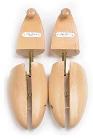 ロイドフットウェア 純正シューツリー(シューキーパー)ダブルスプリット 天然樫の木材製 光沢仕上