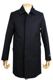 マッキントッシュロンドン メンズ MACKINTOSH LONDON ウールステンカラーコート ダンケルドML ネイビー グリーンストームシステム ファボラ
