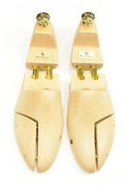 サルト・レカミエ シューツリ(シューキーパー)英国靴などグッドイヤー製法の靴に対応「SR100EX」バネ式(ツインチューブ) ブナ材