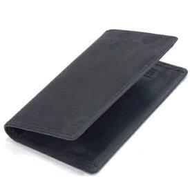 セトラー(SETTLER)WHCのセカンドライン ワンワールドコレクション ヌバックタイプ オイルドレザー OW7412 ネームカードケース 名刺入れ(NAME CARD CASE)BLACK(ブラック)
