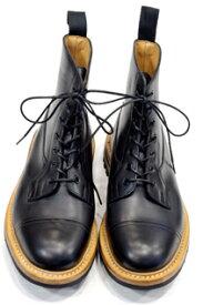 トリッカーズ TRICKER'S カントリーブーツコレクション グラスミア MCブラック カスタム仕様スーパー・ブーツ コマンドソール