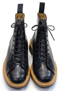 Tricker's Monkey Boots Black Box Calf Commando Sole : トリッカーズ モンキーブーツ ブラックボックスカーフ コマンドソール