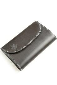 ホワイトハウスコックス WHITEHOUSE COX ホリディーライン 7660 三つ折財布 エスプレッソ xイエロー ブライドルレザー ツートンコインケース付き