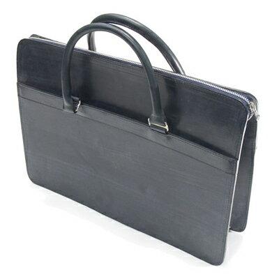 ホワイトハウスコックス WhitehouseCox L9892 ジップブリーフケース ネイビー ブライドルレザー 別称書類バッグ・手提鞄