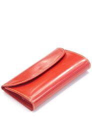 ホワイトハウスコックス s7660 ブライドルレザー 三つ折ウォレットコインケース付(原型3つ折り財布)永世定番モデル レッド