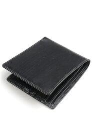 ホワイトハウスコックス Whitehouse Cox s8772 ノートケース ブラック ブライドルレザー 小銭入れ無し二つ折り財布