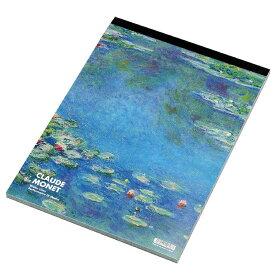 セクションパッド A4 モネ1 PDM ミュージアムグッズ レポート用紙 5ミリ 方眼用紙 ブルー 公式通販サイト