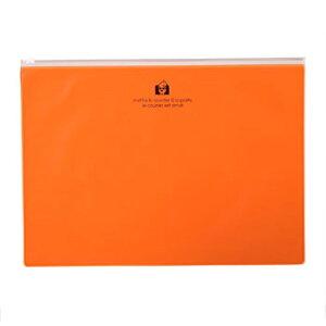ジッパーポケットA4 オレンジ TRP 収納 ジッパーケース ジッパーポーチ 公式通販サイト