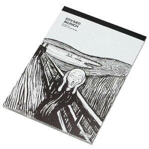 セクションパッド A4 ムンク PDM ミュージアムグッズ レポート用紙 5ミリ 方眼用紙 ブルー 公式通販サイト